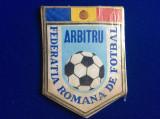 Fanion sportiv - Fanion România - Federația Română de Fotbal - Arbitru