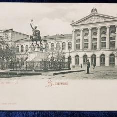 Palatul Universitatii, Bucuresci - CP Clasica