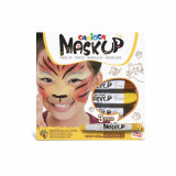Cumpara ieftin Set pictura pe fata si corp, face painting Mask-Up Animals, Carioca
