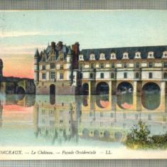 AD 02 C. P. VECHE- CHENONCEAUX -LE CHATEAU  -1917 -FRANTA -COMMISION MILITAIRE