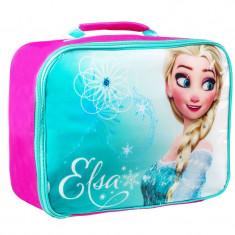 Gentuta fetite Elsa Frozen, 26 cm, Multicolor