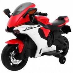 Motocicleta electrica R1 Superbike, rosu