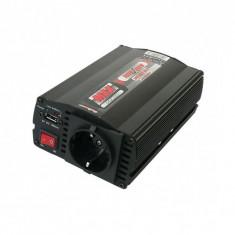 Convertor cu USB 24V / 230V 300W / 600W, protectie la suprasarcina si ventilator incorporat