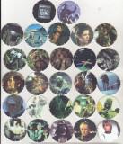 Bnk crc Cartonase de colectie - Tazos - Star Wars - 27 diferite