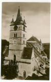 1938 - SEBES ALBA, Evangelical Church - old postcard - used - 1931