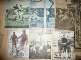Lot 6 Reviste Stadion si Sport anii '48 ,49,69 ,73 -Echipa CFRB si Rapid, Jiul