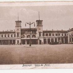 Bucuresti Gara de Nord, Necirculata, Printata