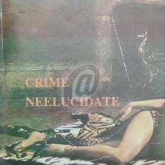 Crime neelucidate (Wilson)