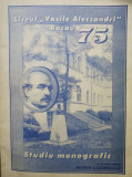 "Liceul ""Vasile Alecsandri"" 75 / Vasile Cosmescu"