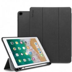 Husa Book Cover Ringke Smart 8809611509191 pentru iPad 2018 9.7inch (Negru)