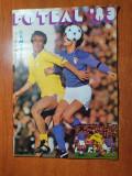 Revista fotbal 1983-mircea lucescu,,dobrin,balaci,camataru,universitatea craiova