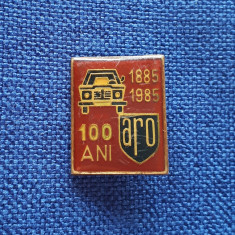 Insigna Uzina Aro - aniversare 100 de ani