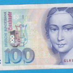 (4) BANCNOTA GERMANIA - 100 MARK 1996 (2 IANUARIE 1996), STARE BUNA