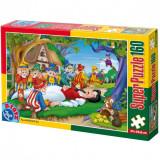 Cumpara ieftin Super Puzzle Alba ca Zapada 160 Piese 60495, D-Toys