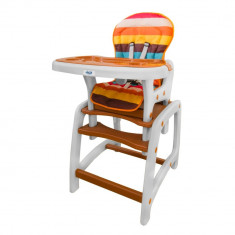 Husa pentru scaun de masa Juju Eat&Play Maro