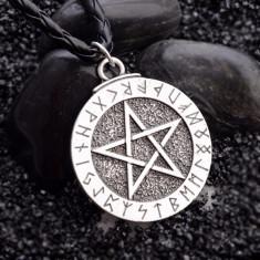 Pandantiv / Colier / Lantisor / Talisman - Pentagrama , Steaua Lui David
