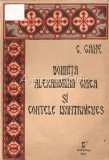 Cumpara ieftin Domnita Alexandrina Ghica Si Contele D'Antraigues - C. Gane
