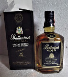 RARE BALLANTINES, GOLD SEAL SPECIAL RESERVE, AGED 12 YEARD cl 70 gr 40 anii 90