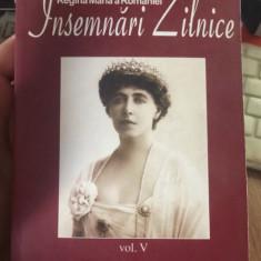 Insemnari zilnice: Vol. 5: 1 ianuarie-31 decembrie 1923 / Maria, Regina Romaniei