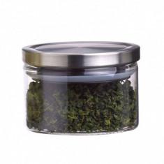 Recipient tip Borcan din sticla cu capac 0.3L Peterhof PH100403