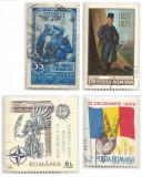Romania, LP 330/1952, LP 753/1971, LP 1233/1990, LP 1798/2008, 4 serii, obl.