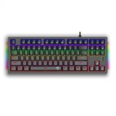 Tastatura Gaming Mecanica T-Dagger Bali, LED Rainbow (Negru)
