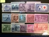 U . S . A .   -  lot  de  15  timbre   MNH