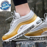 "ORIGINALI 100 % ! Nike air max 97 ""Gold rush ""  din germania nr 36.5;37.5"