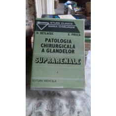 PATOLOGIA CHIRURGICALA A GLANDELOR SUPRARENALE - D. SETLACEC VOL.1