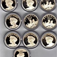 Moneda 50 bani 2019 PROOF regina Maria