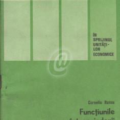 Functiunile intreprinderii si centralei industriale in sistemul de organizare si conducere a economiei nationale