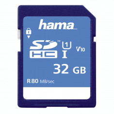 Card de memorie Hama SDHC 32GB clasa 10 UHS-I 80MB/s