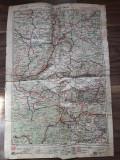 Hartă românească interbelică reorganizăre teritoriala 1928