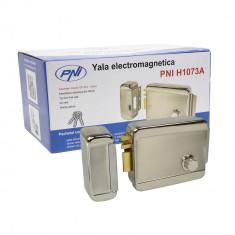 Resigilat : Yala electromagnetica PNI H1073A din otel cu butuc Fail Secure NO