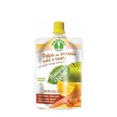 Piure Bio Fructe Fara Zahar Mere Portocale si Morcovi Probios 100gr Cod: 8018699021857