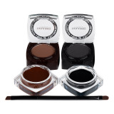 Cumpara ieftin Set tus eyeliner gel + fard sprancene eyebrow & eyeliner gel