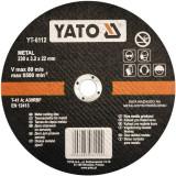 Disc debitat metal 230 x 3.2 x 22 mm Yato YT-6112