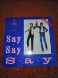 "Paul McCartney Michael Jackson Say Say maxi single 12"" vinil vinyl"