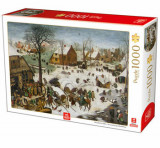 Cumpara ieftin Puzzle Pieter Brueghel the Elder - The Numbering at Bethlehem, 1000 piese