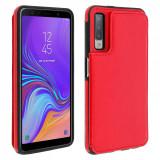 Cumpara ieftin Husa SAMSUNG Galaxy A7 2018 -Forcell Wallet (Rosu)