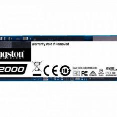 SSD Kingston A2000 250GB PCI Express 3.0 x4 M.2 2280