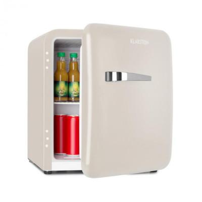 Klarstein Audrey, frigider mini retro, 48L, 2 niveluri, A+, crem foto