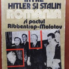 ÎNTRE HITLER ȘI STALIN - FLORIN CONSTANTINIU