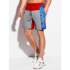 Pantaloni scurti barbati - W317 - gri
