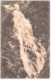 SV *  Cascada in Muntii Carpati  *  1917  *  Sibiu, Circulata, Fotografie, Printata