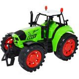 Tractor de jucarie din plastic 16x11x9 cm