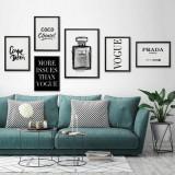 Cumpara ieftin Set 6 tablouri decorative Designer, Heinner