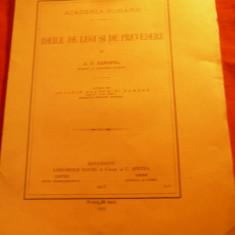 AD Xenopol - Ideile de Legi si de Prevedere - Ed. 1913 Socec si C.Sfetea ,11 pag