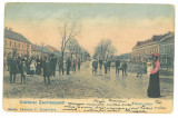 4980 - JIMBOLIA, Timis, Romania - old postcard - used - 1904, Circulata, Printata