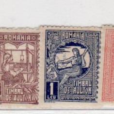 Romania   1918  - 1920    lot    Timbru  de  ajutor